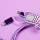 Pusheen - USB Charging Cable - Mermaid thumbnail image 2