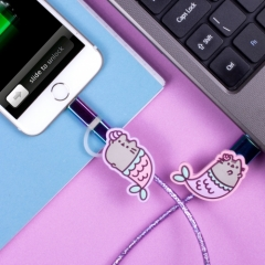 USB Charging Cable - Mermaid