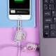 Pusheen - USB Charging Cable - Unicorn thumbnail image 0