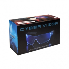 LED Brille - Cyber Vizor