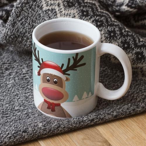 Reindeer Mug Large Image