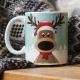 Reindeer Mug thumbnail image 1