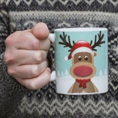 Reindeer Mug