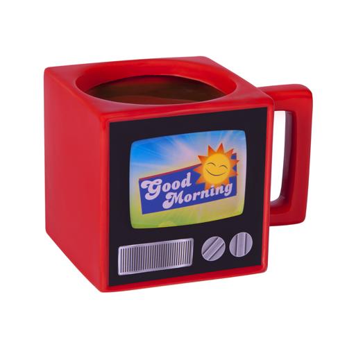 Retro TV Mug Large Image