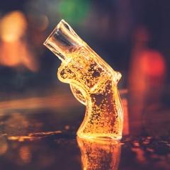 Schnapsglas - Revolver