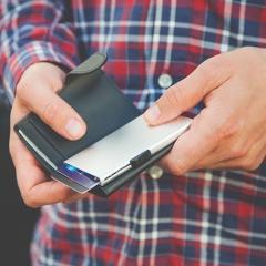 Geldbörse aus Echtleder - RFID Wallet