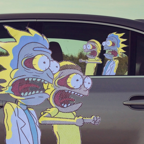 Ride With Rick & Morty