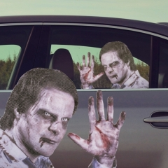 Ride With a Zombie - Fenstersticker