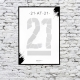 21 at 21 Scratch & Reveal Poster thumbnail image 1