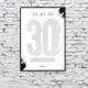 30 at 30 Scratch & Reveal Poster thumbnail image 1