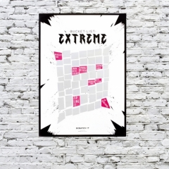 Extreme Scratch & Reveal Poster