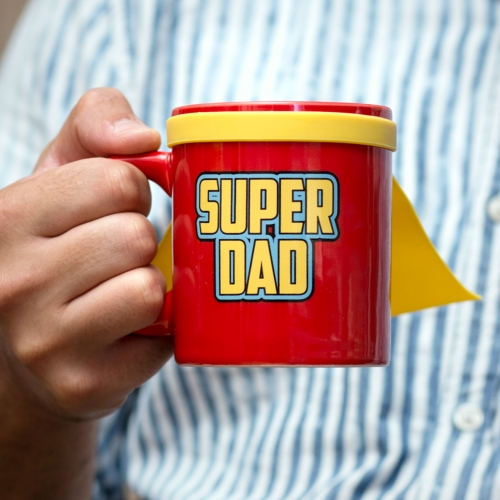 Super Dad Mug Large Image
