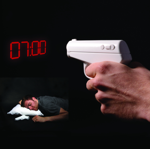 Secret Agent Alarm Clock