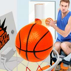 Slam Dunk Toilet Basketball