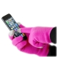 Smart Glove - Touch Glove for Smartphone - Pink thumbnail image 0