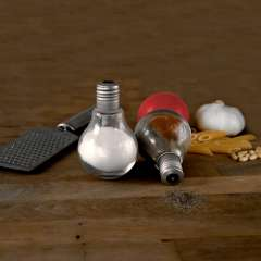 Salt n Pepper Light Bulbs