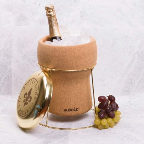 Bottle Cork Ice Bucket