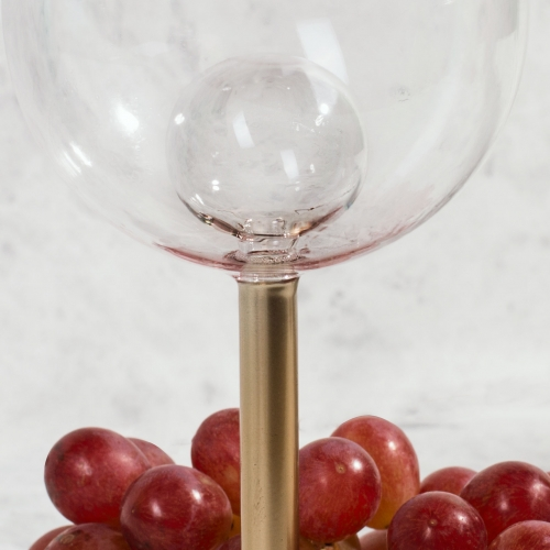 Wine Glass with Ball