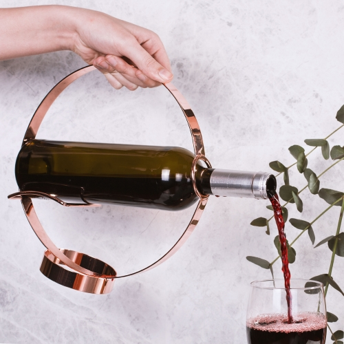 Wine Bottle Holder & Pourer  Large Image