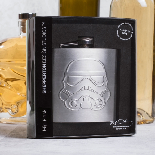 Original Stormtrooper - Hip Flask Large Image
