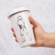 Original Stormtrooper - Ceramic Travel Mug - White thumbnail image 0