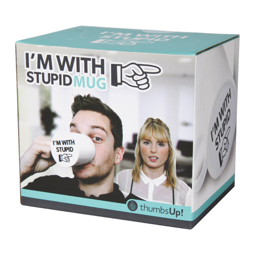Tasse - I'm with Stupid