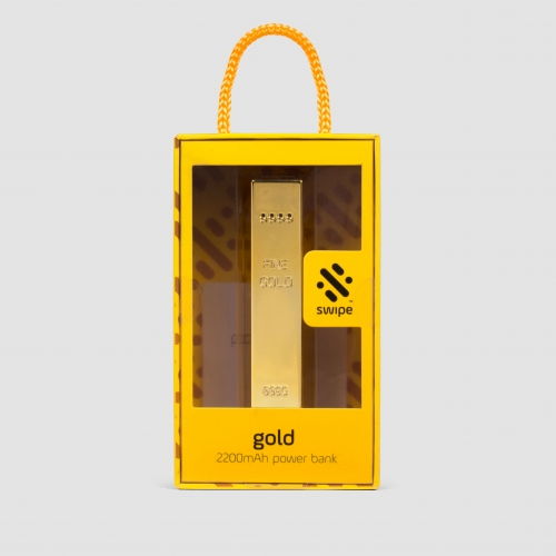 Gold Bar Shaped Powerbank