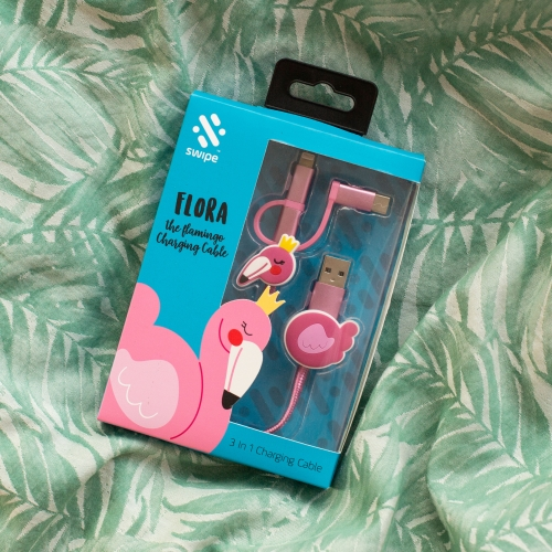 Flamingo 3-in-1 Cable