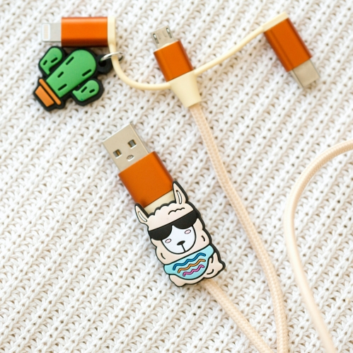 Llama 3-in-1 Cable Large Image