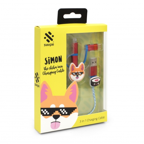 Shiba Inu 3-in-1 Cable