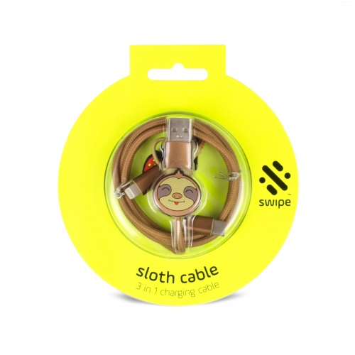 Sloth 3-in-1 Cable