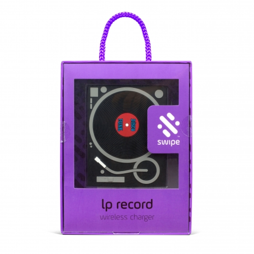 LP Record Wireless Charger Large Image