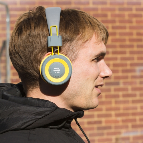 Pump - Bluetooth Headphones - Yellow