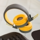 Pump - Bluetooth Headphones - Yellow thumbnail image 2