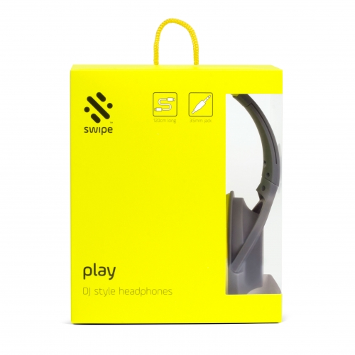 Play - DJ Style Headphones - Green