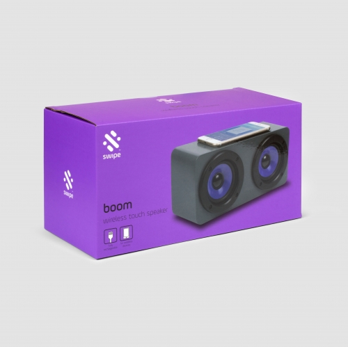 Boom - Induction Speaker - Purple