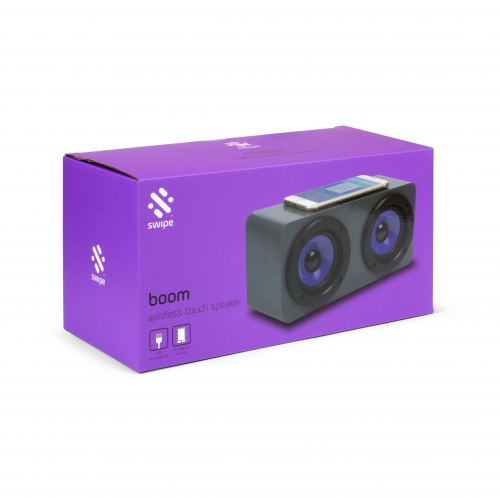 Boom - Induction Speaker - Purple Large Image