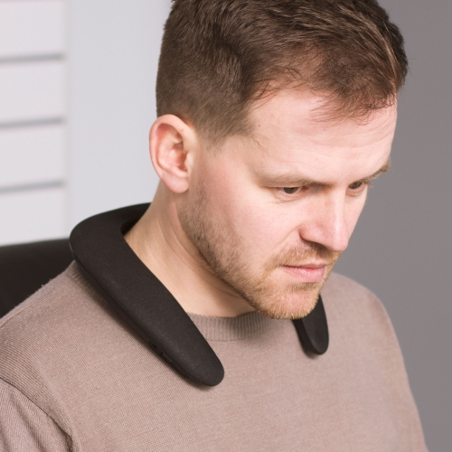 Audiowave Wearable Neck Speaker - Black
