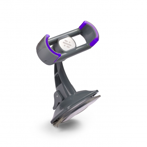 Grab - In Car Suction Mount - Puple