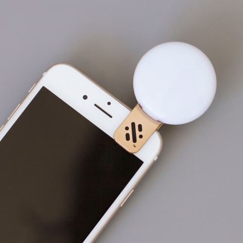 Glow - Mini Selfie Light - Gold