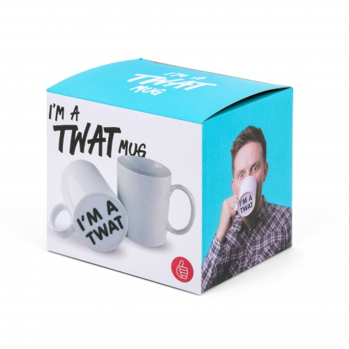 Surprise Mug - I'm a twat Large Image