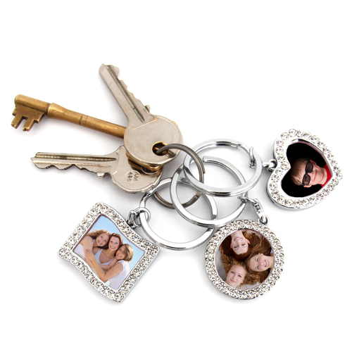 Ultimo Keyring Photo Frames - 3 Pack