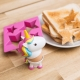Unicorn Egg Cup & Toast Cutter Set thumbnail image 0