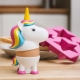 Unicorn Egg Cup & Toast Cutter Set thumbnail image 4