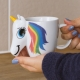 Colour Changing Unicorn Mug thumbnail image 2