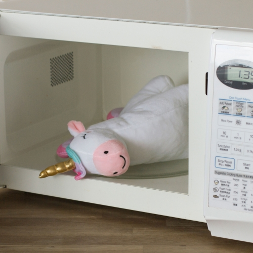 Unicorn Microwave Plush
