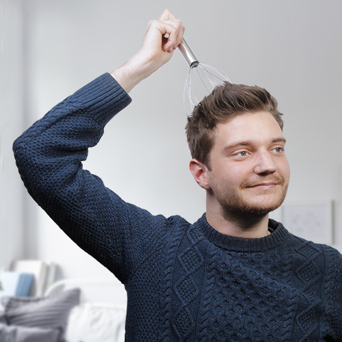Vibrating Head Massager