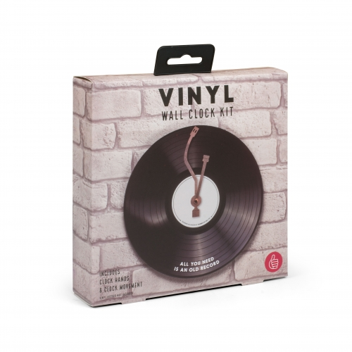 Vinyl Wall Clock Large Image