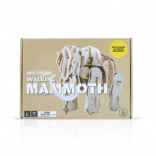 Build Your Own Walking Mammoth
