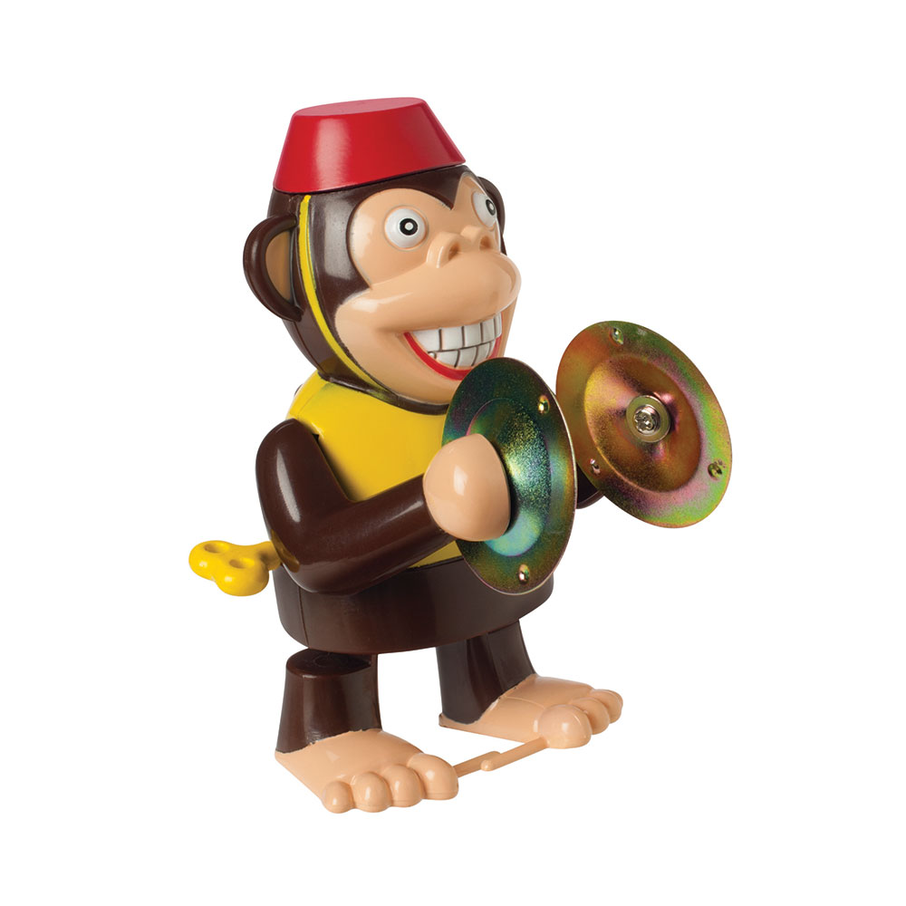Retro Wind Up Monkey Large Image